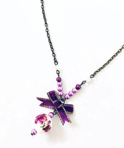 Purple Pop Necklace