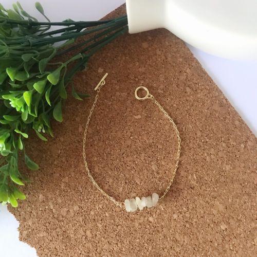 Lil' Moonstone Bracelet