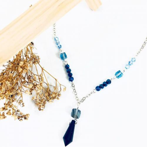 Dusty Blue Necklace
