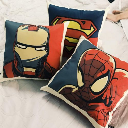 Personalised Superhero Square Pillow