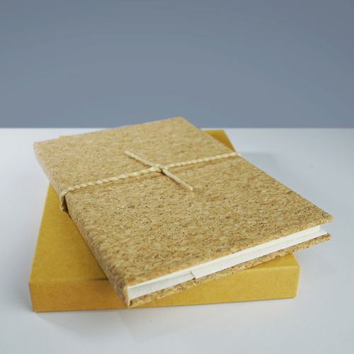 EcoQuote Notebook Handmade Cork Material, Eco-Friendly, Sustainable & Great For Vegan
