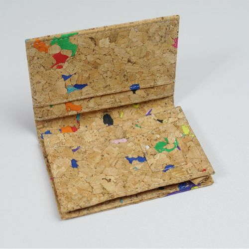 EcoQuote Namecard Holder Handmade Cork Material Eco-Friendly Great For Vegan