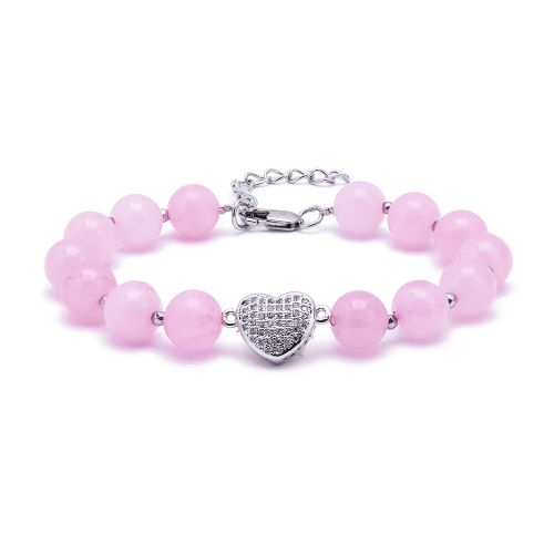 Kelvin Gems Adore Rose Quartz Bracelet