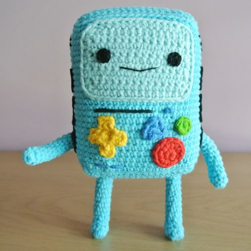 BMO Adventure Time Amigurumi