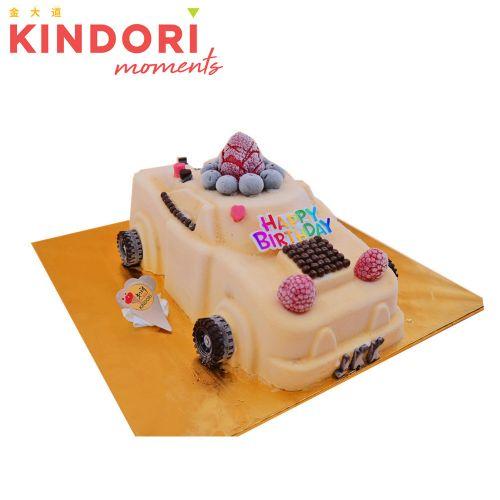 Antique Car Ice Cream Cake