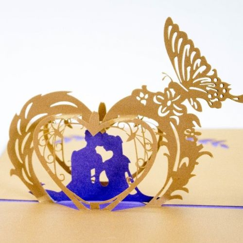 Handmade 3D Greeting Card - Happy Ever After