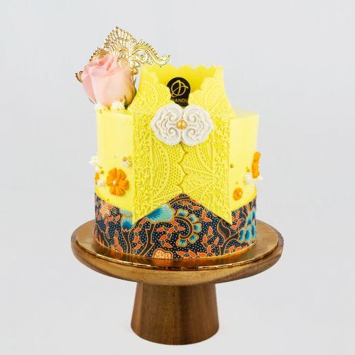 Baju Kebaya Designer Cake - Merdeka 2021