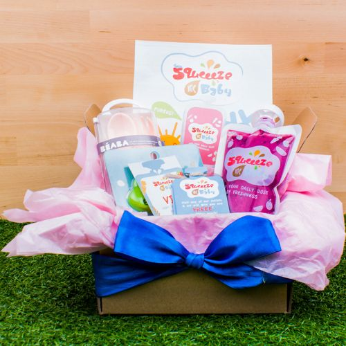 Customisable Squeezy Baby Treat Box