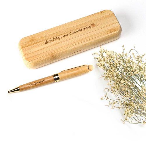 Personalised Bamboo Wood  Pen