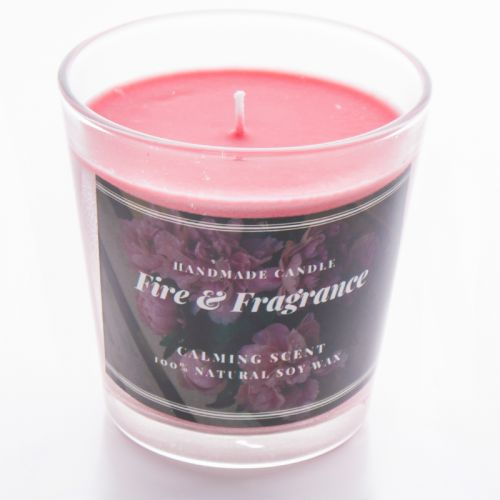 Handmade Scented Candle (tapered glass)