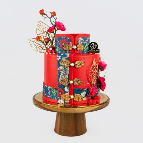 Cheongsam Designer Cake - Merdeka 2021