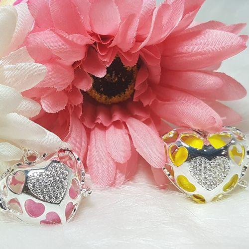 Diamond Heart Aromatherapy Necklace