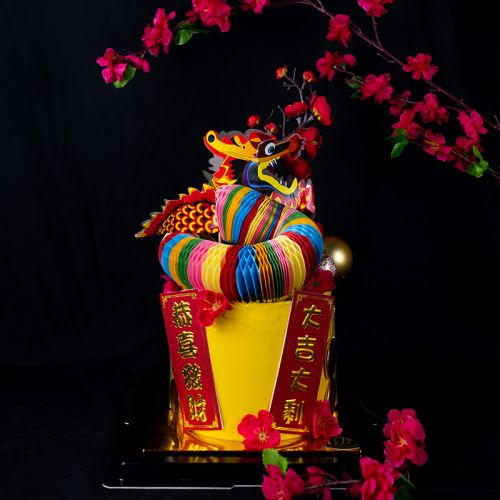 Dragon Dance Cake - 2021 Chinese New Year CNY