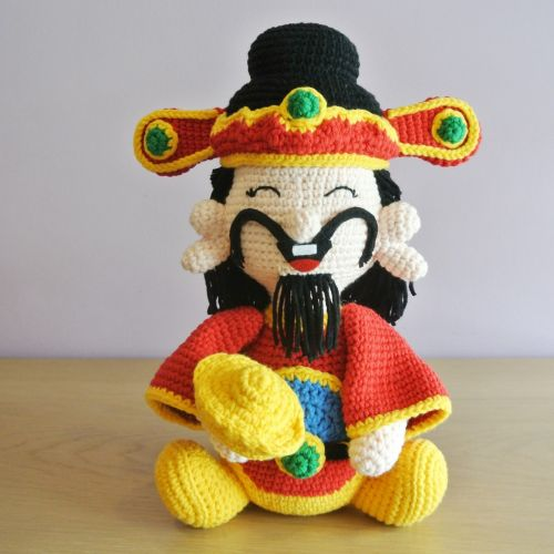 Crochet Fortune Doll Amigurumi