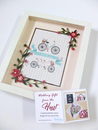 Elegant Gift Frame - Handmade