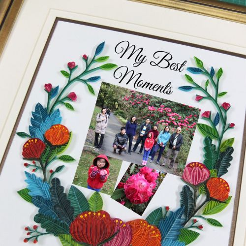 My Quill Photo Collage  - Your Unique Customised Gift  Frame or Card