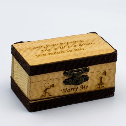 Wood Box (Small) + FREE ENGRAVING