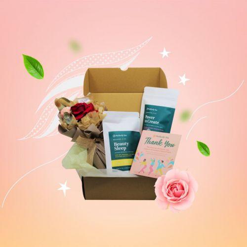 Blossoms and Tea Gift Set