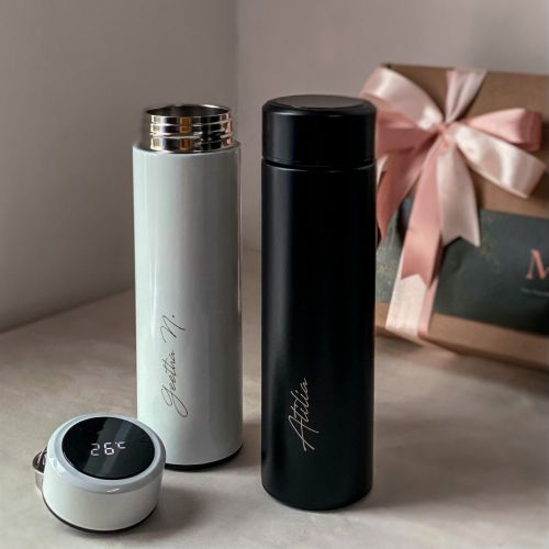 Personalized 17oz LED Vacuum Stainless Steel Thermal Flask