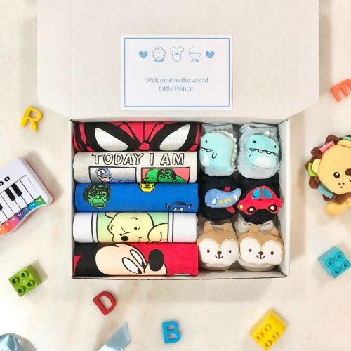 Gift Box A | Newborn Baby Boy (Nationwide Delivery) Superhero