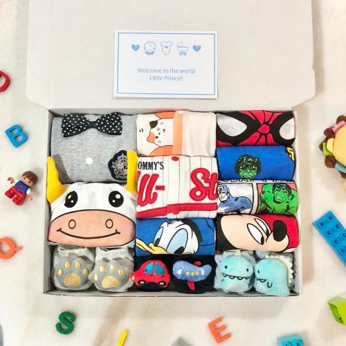 Gift Box E | Newborn Baby Boy