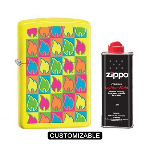 Zippo 28954 Boxed Flames Lighter