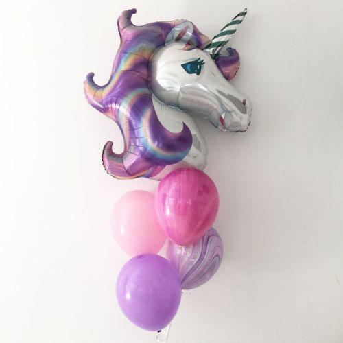 Basic Unicorn Balloon Bouquet
