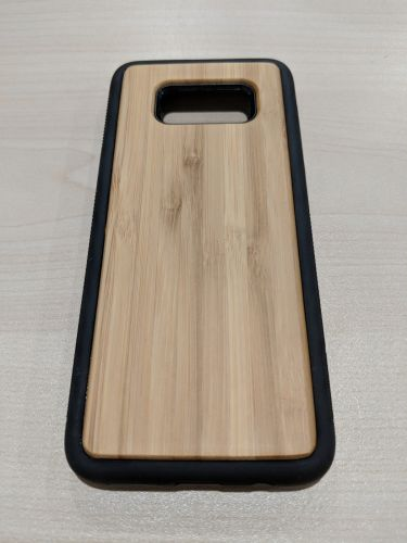 EcoQuote Samsung Galaxy S8 Bamboo Flexi TPU Phone Case Bamboo Eco Friendly Vegan