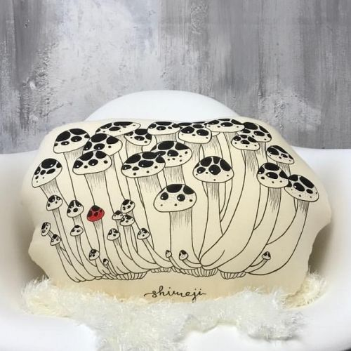 Vegetable Shimeji Plushy Pillow