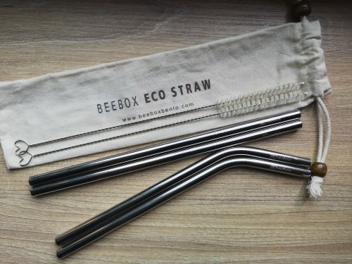 Beebox Eco Straw SET OF 4