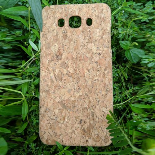 EcoQuote Samsung J7 2016 Cork PC Hard Phone Case Eco-Friendly, Sustainable & Great For Vegan