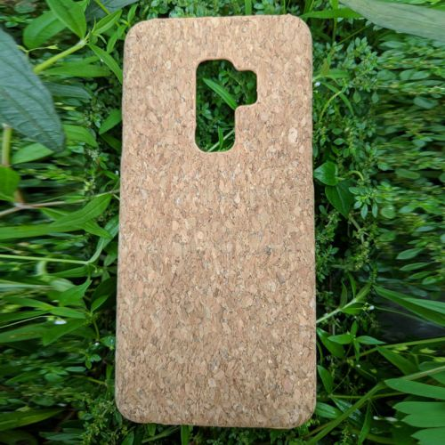 EcoQuote Samsung Galaxy S9 Plus Cork PC Hard Phone Case Eco-Friendly, Sustainable & Great For Vegan