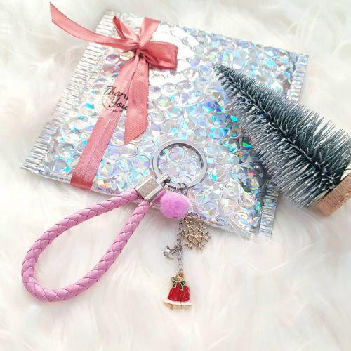 Christmas Keychain ~ Pink