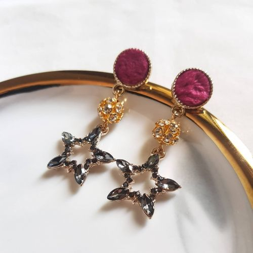 Fur + Star Earring