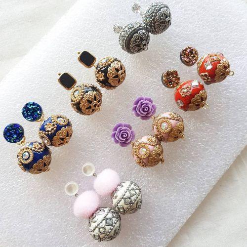 Indonesia Beads Series ~ Earring