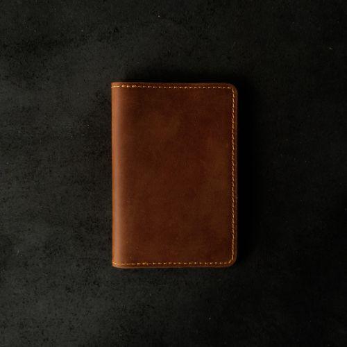 Genuine Full-Grain Leather Passport Holder (Free Name Embossing)
