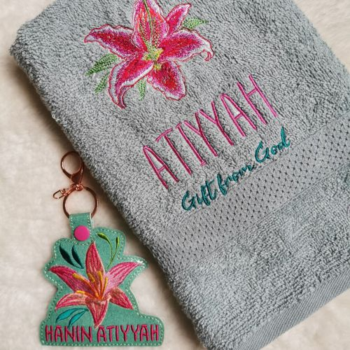 PERSONALIZED BABY TOWEL