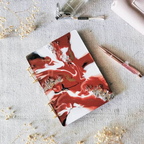 Kabuki - Resin Notebook
