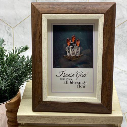 Mini Christmas Frame Series - Candles of Joy