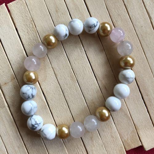 August Bijoux Handmade Rose Gold Bracelet