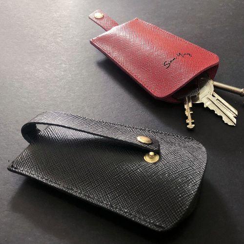 Personalised Genuine Leather Pulling Key Holder
