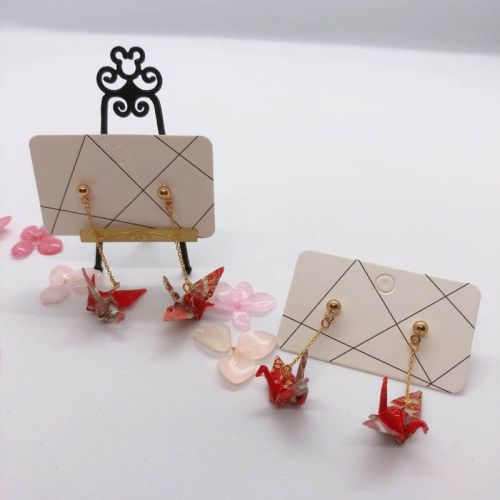 Little Hakutsuru Earrings