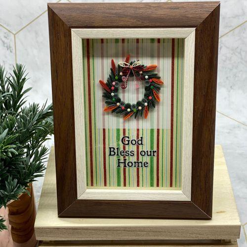 Mini Christmas Frame Series : Elegant Wreathe