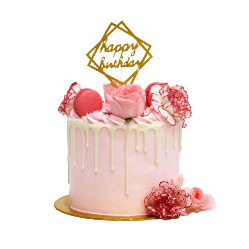 Isabella Floral Cake