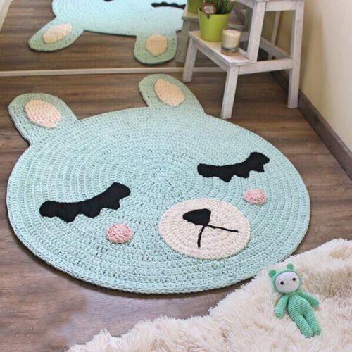 Handmade Crochet Floor Mat