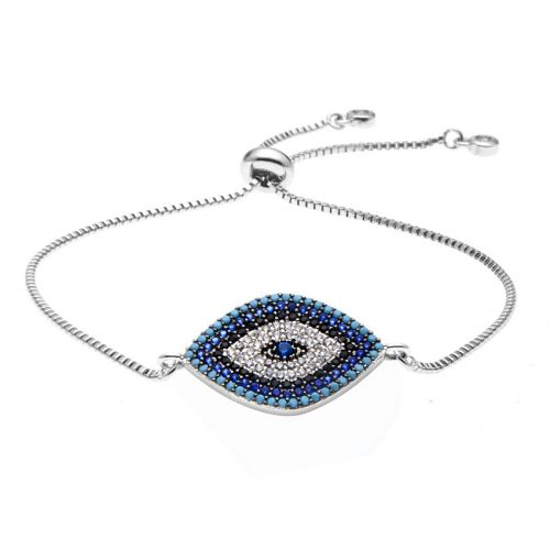 Luna Eyes Adjustable Chain Bracelet
