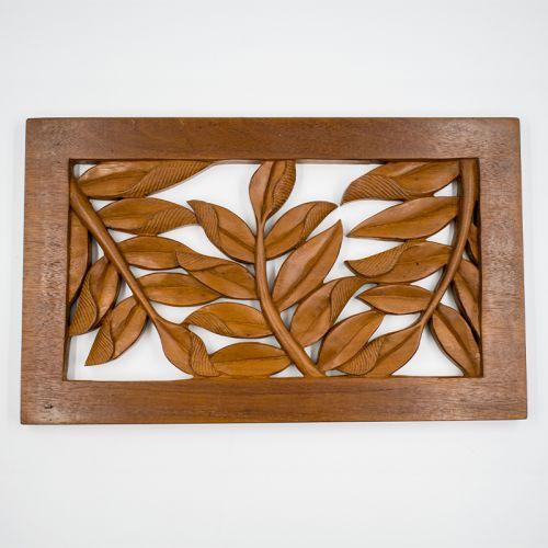 Cengal Wood Wall Decor