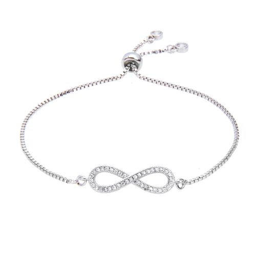 Kelvin Gems Luna Infinity Adjustable Bracelet