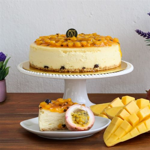 Mango & Passion Cheesecake