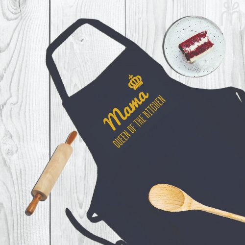 Customized Apron - Queen of My Kitchen